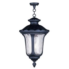 Oxford 3 Light Foyer Pendant