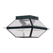 Westover 2 Light Outdoor Flush Mount