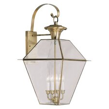 Westover 4 Light Outdoor Wall Lighting