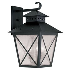 Montgomery 3 Light Outdoor Wall Lighting