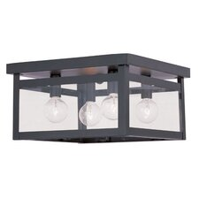 Milford 4 Light Flush Mount
