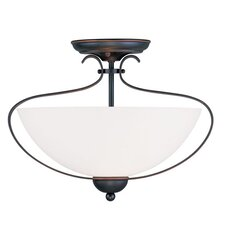 Brookside 2 Light Flush Mount