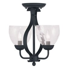 Brookside 2 Light Convertible Pendant