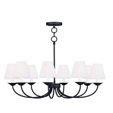 Mendham 8 Light Convertible  Chandelier