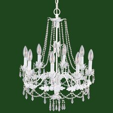 <strong>Livex Lighting</strong> Athena 8 Light Chandelier