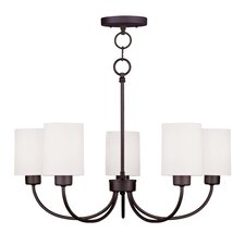 Sussex 5 Light Convertible Chandelier