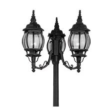 "<strong>Livex Lighting</strong> Frontenac 3 Light 22"" Outdoor Post Lantern"