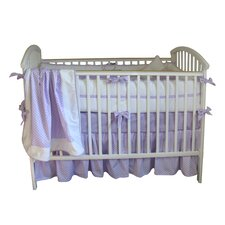 Jocelyn 3 Piece Crib Bedding Set with Bumper