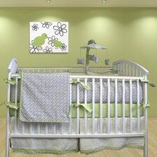 Metro 3 Piece Crib Bedding Set
