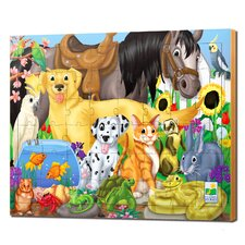 48 Piece Lift and Discover Jigsaw Puzzle - Animal Friends