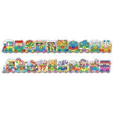 Puzzle Doubles Giant ABC and 123 Trains