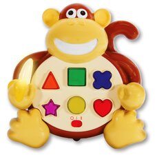 <strong>The Learning Journey</strong> Early Learning Animal Pals Colors and Shapes Monkey