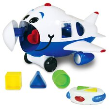 <strong>The Learning Journey</strong> Jumbo the Jet Shape Sorter Remote Control Airplane