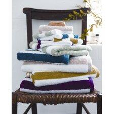 Kensington Stripe Towel in Magenta
