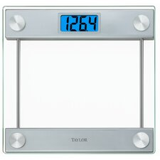 "Glass Digital 14.3"" Bath Scale"
