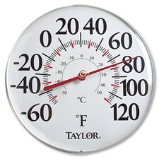"""12"""" Indoor-Outdoor Thermometer (Set of 5)"""