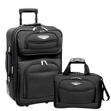Amsterdam 2 Piece Carry On Luggage Set