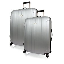 Rome Hard-Shell Spinner 2 Piece Luggage Set