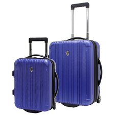 <strong>Traveler's Choice</strong> New Luxembourg 2 Piece Hardsided Carry-On Luggage Set