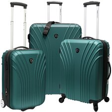 <strong>Traveler's Choice</strong> 3 Piece Hardsided Expandable Luggage Set
