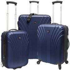 Johnson 3 Piece Hardsided Expandable Luggage Set