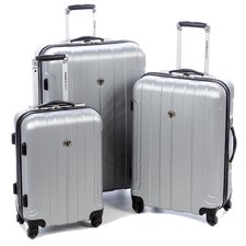 Cambridge 3 Piece Hardshell Spinner Luggage Set