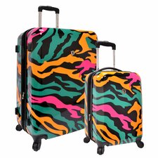 <strong>Traveler's Choice</strong> 2 Piece Hardside Expandable Luggage Set
