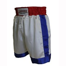 Boys Boxing Shorts in Red / White / Blue