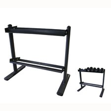 Space Saver 2-Tier Dumbbell Rack