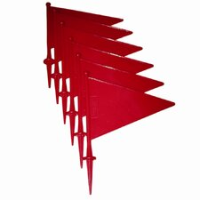 "12"" Plastic Flag (Set of 6)"