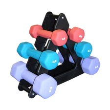 Neoprene 7 Piece Dumbbell Set