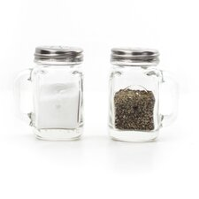 Salt & Pepper Mason Jar Set