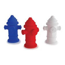<strong>Kikkerland</strong> Fire Hydrant Erasers (Set of 3)