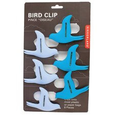 Flying Bird Bag Clips (Set of 6)