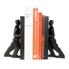<strong>Kikkerland</strong> Book Ends (Set of 2)