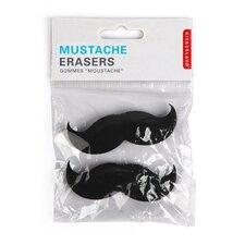 Mustache Erasers (Set of 2)
