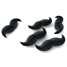 Mustache Erasers (Set of 2)