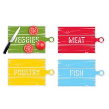 Country Cutting Mats (Set of 4)