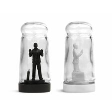<strong>Kikkerland</strong> Drowning in Debt Salt and Pepper Shaker