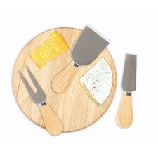 <strong>Kikkerland</strong> Cheese Please Cheese Set