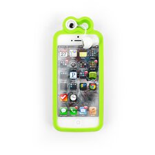 <strong>Kikkerland</strong> Froggy iPhone 5 Case with Earbuds