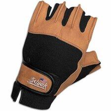 Power Gel Gloves in Tan / Black