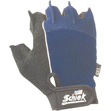 <strong>Schiek Sports, Inc.</strong> Cross Training Gloves in Blue / Black