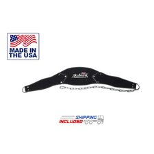 "<strong>Schiek Sports, Inc.</strong> 7"" Dip Belt in Black Amara"