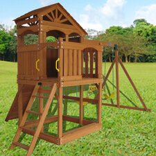 <strong>Swing Town</strong> Timber Valley Modular Swing Set