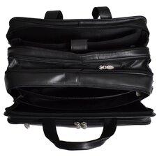 R Series Walton Leather Laptop Briefcase