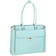 W Series Winnetka Leather Laptop Briefcase