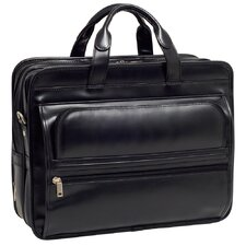 <strong>McKlein USA</strong> P Series Elston Leather Laptop Briefcase