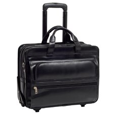 <strong>McKlein USA</strong> P Series Franklin Leather Laptop Catalog Case