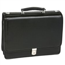 I Series Bucktown Leather Laptop Briefcase